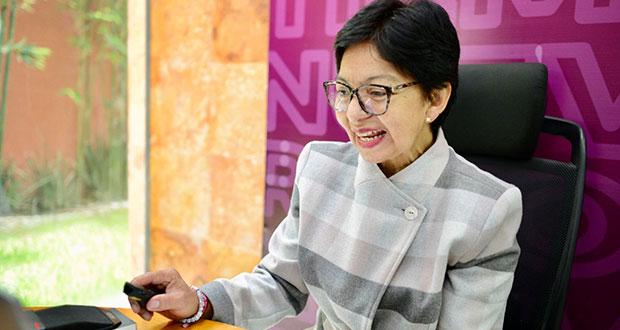 Desde BUAP, contribuir a la movilidad social, propone Lilia Cedillo