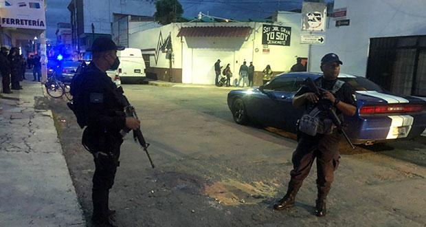 Disparan a mujer y su hijo en Texmelucan; buscan a sospechoso