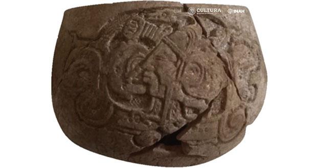 En Yucatán, descubren vasija milenaria en obras del Tren Maya
