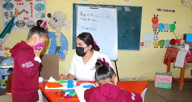 En refugio de Morelia, Conafe educará a hijos de mujeres violentadas