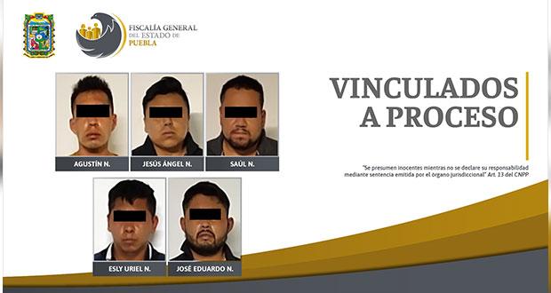 FGE desarticula banda dedicada a la extorsión y secuestro en Izúcar