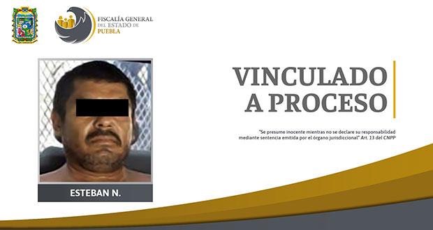 FGE obtiene vinculación a proceso contra sujeto por homicidio en Chietla