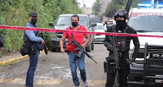 FGE encuentra a 130 migrantes, armas y auto tras balacera en Tlaltenango