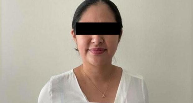 Fiscalía detiene a diputada local suplente de Tecamachalco, tenía armas largas