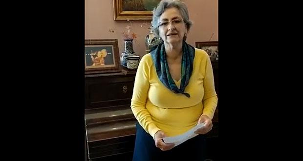 Guadalupe Grajales agradece participación en elección de la BUAP