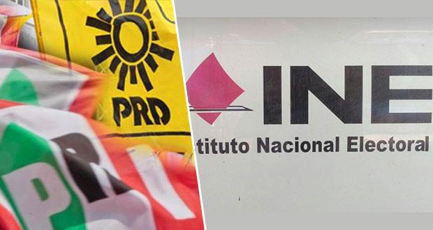 INE deberá a PRI y PRD audiencia para aclarar gastos de campaña