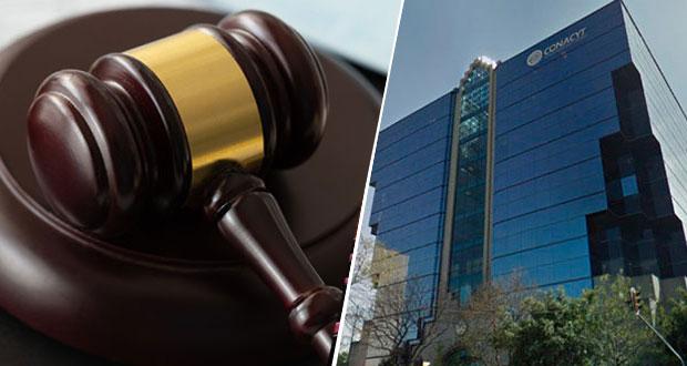 Juez rechaza girar órdenes de aprehensión contra consultores de Conacyt