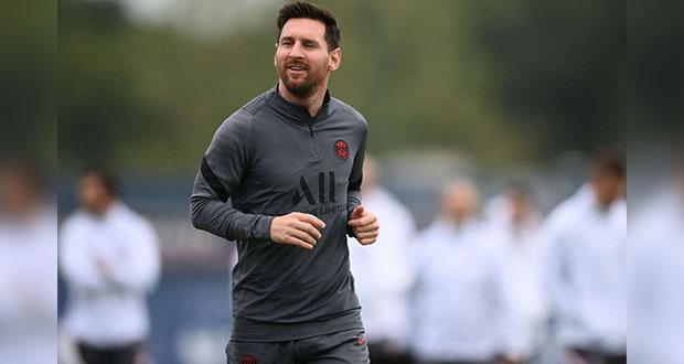 Messi entrena de nuevo con el PSG; Guardiola ya desea enfrentarlo