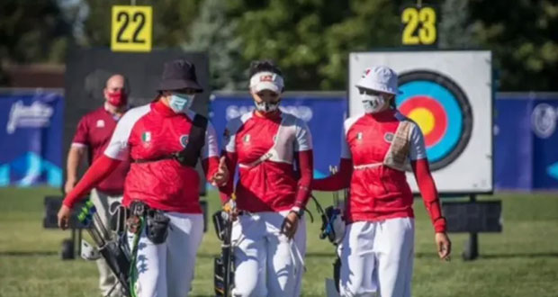 Tres mexicanas ganan plata en el Mundial de Tiro Con Arco