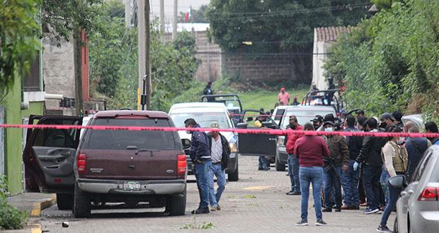 Ministeriales abaten a delincuente en enfrentamiento en Tlaltenango