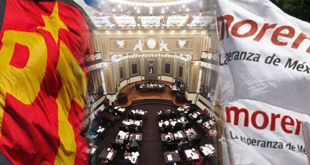 Morena-PT se quedaría con comisiones de Gobernación y Presupuesto en Congreso