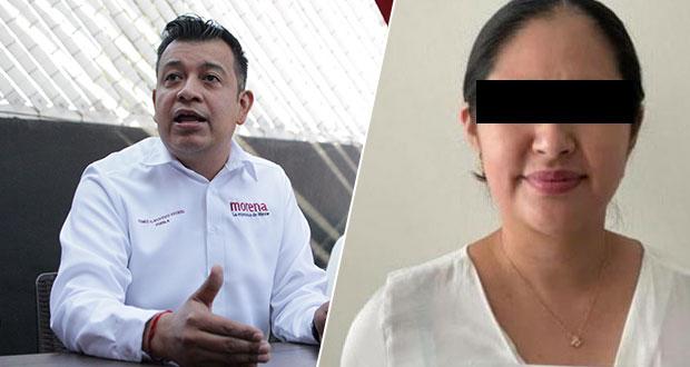 Morena no protegerá a nadie: Belmont tras detención de Neli Cadena