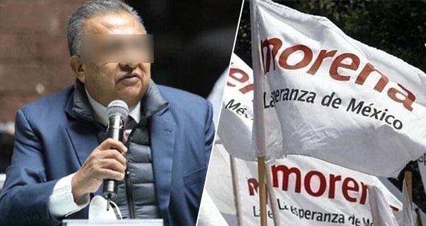 Morena quita a Saúl Huerta, acusado de agresión sexual, derechos políticos