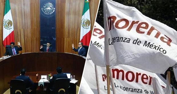 Morena va a Sala Superior del Tepjf para tirar sanción de 7.5 mdp del INE