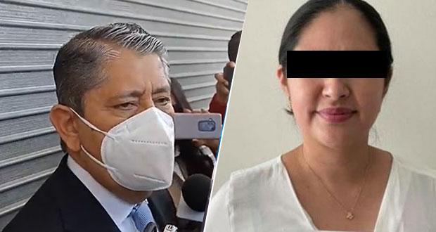 Pasa a FGR caso de diputada suplente de Tecamachalco detenida