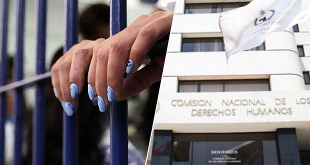 Penales de Puebla, sin espacios dignos para higiene íntima de reclusas: CNDH