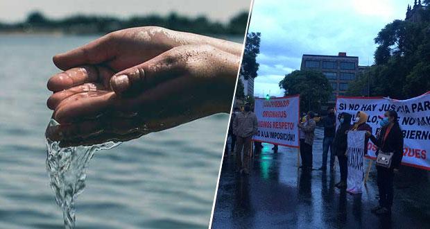 Piden a Federación intervenir en caso de Coyomeapan y conflicto por agua