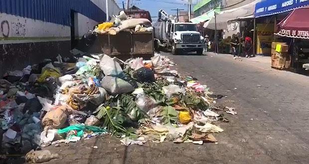 Por adeudo de 10 mdp, suspenden recolección de basura en Tehuacán