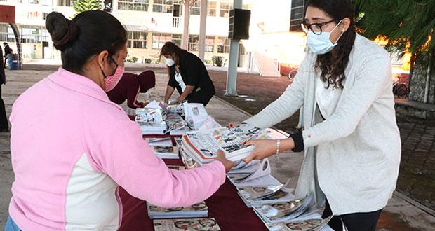 SEP entrega el 95% de libros de texto gratuitos en escuelas poblanas