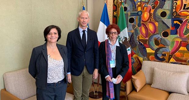 SRE realiza gira por Francia para incentivar inversiones en México