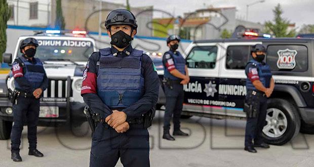 SSC de Puebla detiene a 63 delincuentes y 10 infractores en 6 días