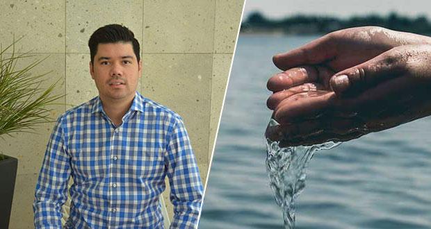 Se analizará desprivatización del agua en Puebla por penalizaciones: Natale