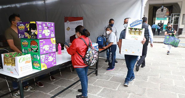 "Sedif instala centros de acopio para damnificados por ""Grace"""