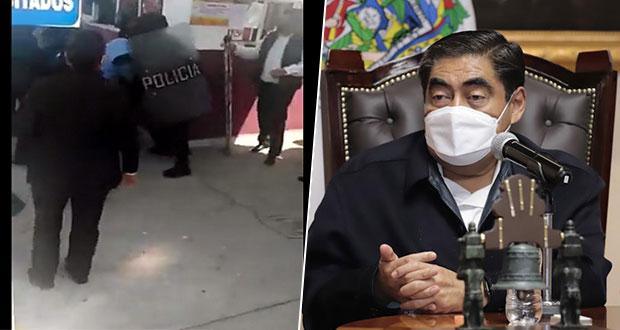 Sin acuerdos con maestros de Tecamachalco que protestaron en SEP: Barbosa