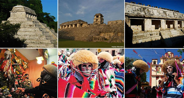 Sorpréndete con Palenque y danzantes de Corzo, patrimonios de Chiapas