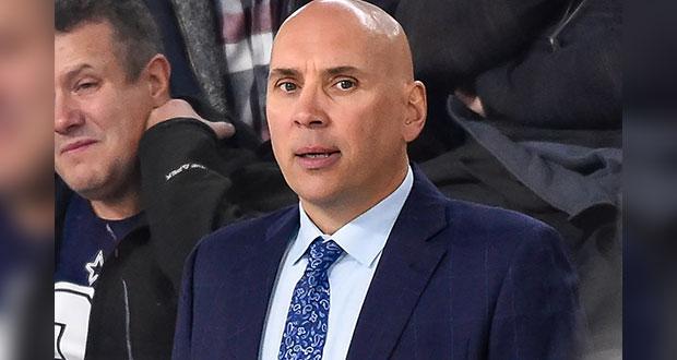 Sylvain Lefebvre, entrenador de NHL, despedido por no vacunarse