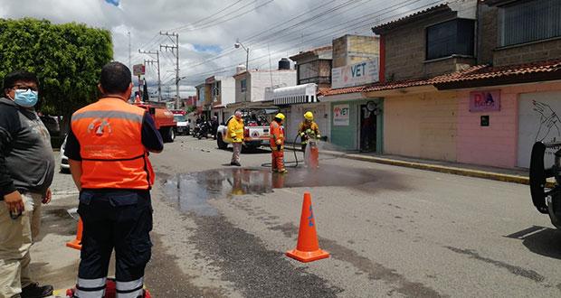 Tanque de gas explota en veterinaria de San Pedro; no hay heridos