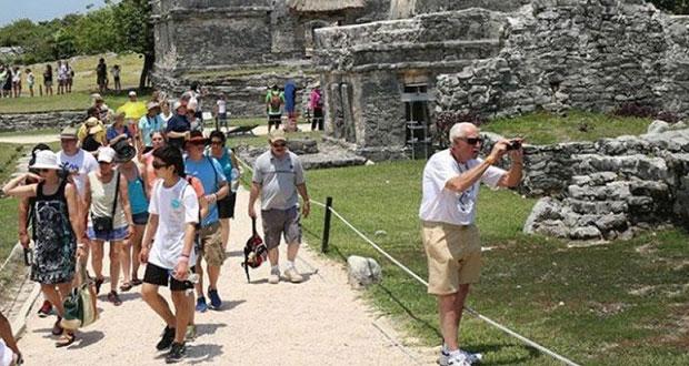 Turismo aportó 8.7% al PIB nacional de México en 2019