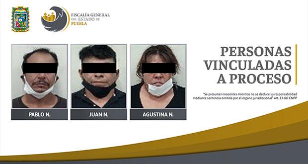 Van a prisión 2 sujetos por posesión de 120 dosis de droga