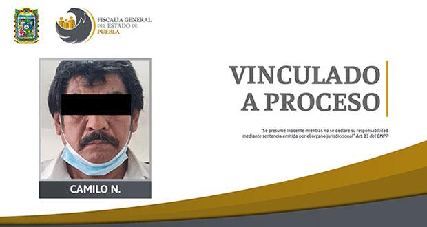 Vinculan a proceso a hombre por abuso sexual en Acatzingo