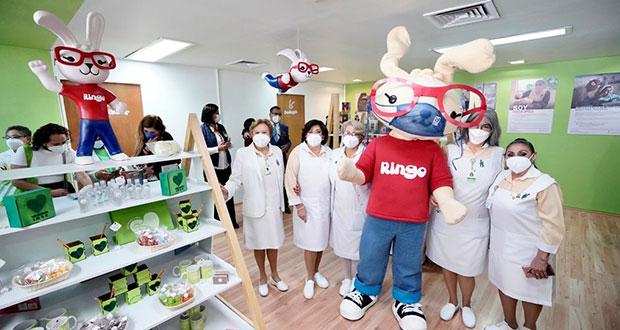 """Voluntariado del IMSS inaugura """"El Bazar de Ringo"""" en CDMX"""