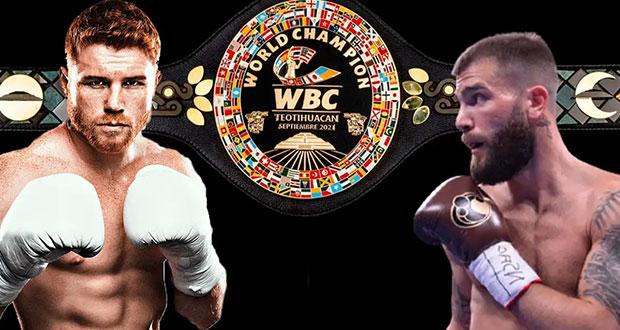 WBC diseña cinturón inspirado en aztecas para Canelo contra Plant