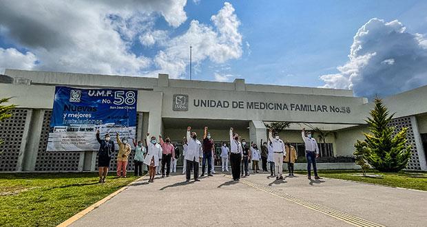 Ya funciona la Unidad Médica de IMSS en Ciudad Modelo