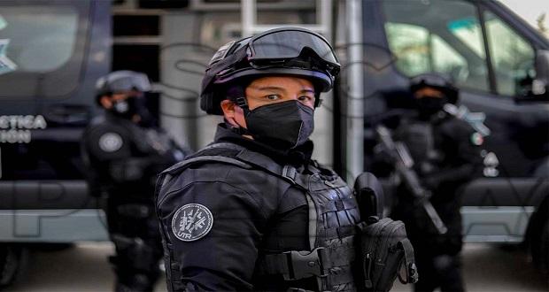 En una semana, SSC detiene a 61 presuntos delincuentes en Puebla