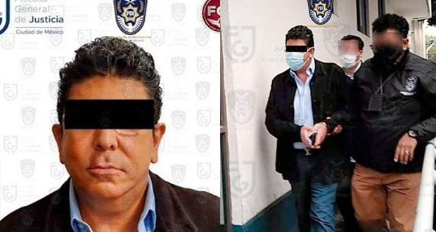 Detienen a Fidel, exdueño del equipo de futbol de Veracruz
