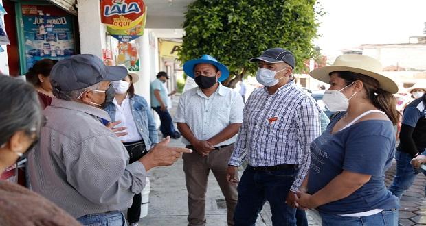 Mejorarán servicios en juntas auxiliares de San Andrés: Tlatehui
