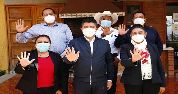 Eduardo Rivera se reúne con ediles electos de CPP y dirigencia