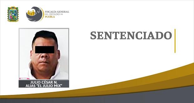 """Condenan a 2 años de prisión a """"El Julio Mix"""" por posesión de droga"""