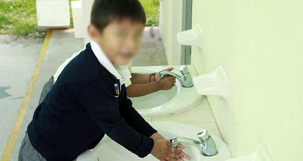 Destina Bienestar municipal 28 mdp para instalar lavamanos y kits en escuelas