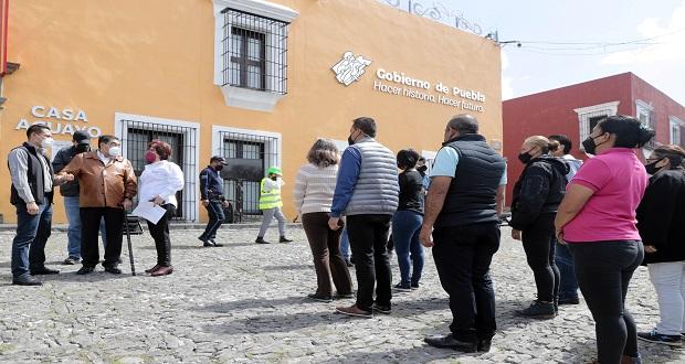 En Puebla, 463 mil 154 personas participan en macro simulacro
