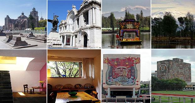 ¿Conoces los cuatro patrimonios culturales que posee la CDMX?