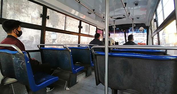 Buscan que, por ley, 30% de asientos de transporte público sea sólo para mujeres