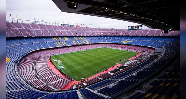 """Camp Nou contará con el 100% de aforo para """"El clásico español"""""""