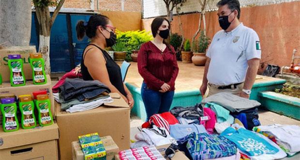Con Migratón, INM entrega alimentos y ropa a personas migrantes