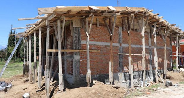 Con apoyo de Antorcha, bachillerato en San Pedro tendrá aula nueva