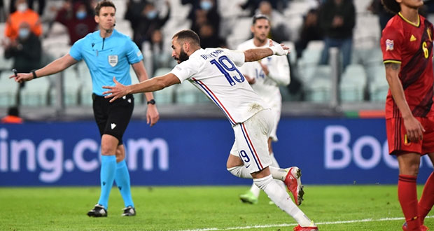 De último minuto, Francia se mete a la final de la Nations League